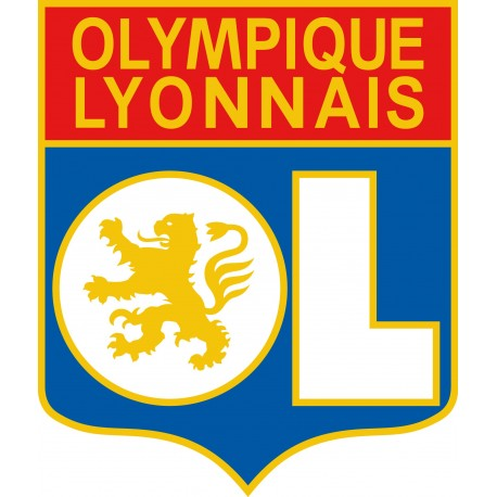 Sticker Olympique Lyonnais OL