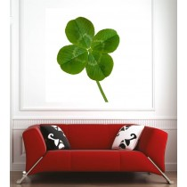 Affiche poster trèfle à 4 feuilles