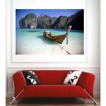 Affiche poster barque