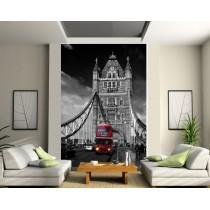 Papier peint géant Londres bus