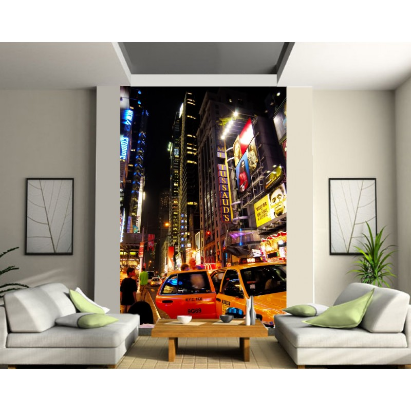 papier peint g ant new york art d co stickers. Black Bedroom Furniture Sets. Home Design Ideas