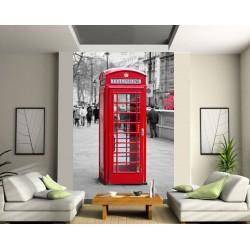 Papier peint géant Cabine téléphonique London