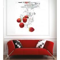 Affiche poster fraise