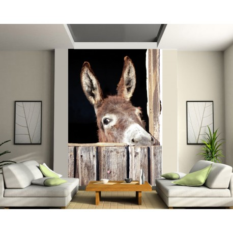 papier peint g ant ane art d co stickers. Black Bedroom Furniture Sets. Home Design Ideas