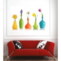 Affiche poster vases de fleurs