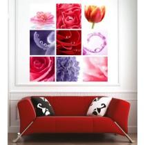 Affiche poster déco fleurs