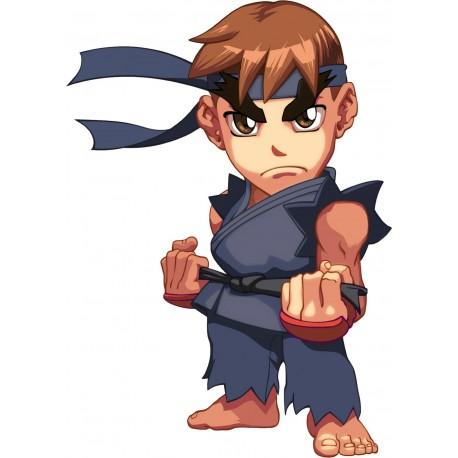 sticker Autocollant Ryu