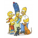 sticker enfant simpsons