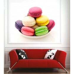 Affiche poster macarons