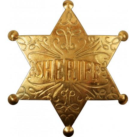 Sticker mural Etoile Sheriff