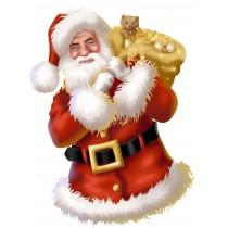 Sticker mural Père Noel