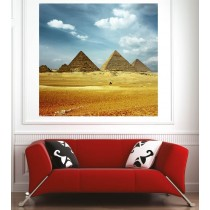 Affiche poster Egypte pyramides