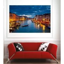 Affiche poster ville Venise
