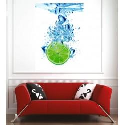 Affiche poster citron vert
