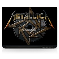 Stickers Autocollants PC portable Metallica