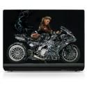 Sticker PC portable Moto