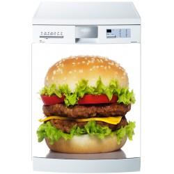 Stickers lave vaisselle ou magnet lave vaisselle Hamburger