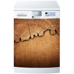 Stickers lave vaisselle ou magnet lave vaisselle Bois