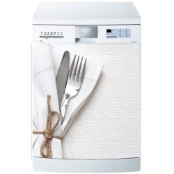 Stickers lave vaisselle ou magnet lave vaisselle Couverts