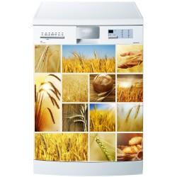 Stickers lave vaisselle ou magnet lave vaisselle Blés