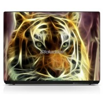 Stickers Autocollants PC portable Tigre
