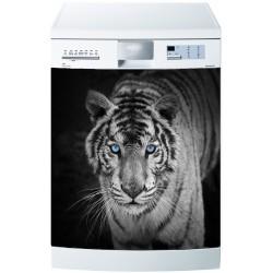 Stickers lave vaisselle ou magnet lave vaisselle Tigre
