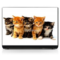 Stickers Autocollants PC portable Chatons