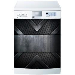 Stickers lave vaisselle ou magnet lave vaisselle Métal
