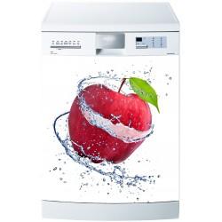 Stickers lave vaisselle ou magnet lave vaisselle Pomme