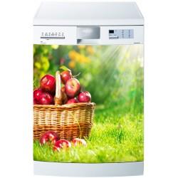 Stickers lave vaisselle ou magnet lave vaisselle Pommes