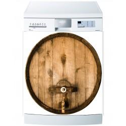 Stickers lave vaisselle ou magnet lave vaisselle Tonneau