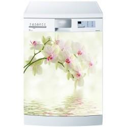 Stickers lave vaisselle ou magnet lave vaisselle Orchidées