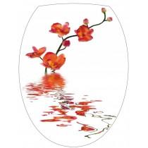 Sticker Abattant de WC Orchidée