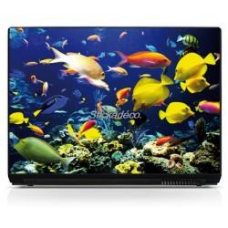 Stickers Autocollants PC portable Aquarium