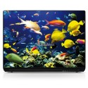 Stickers Autocollants PC portable Aquarium