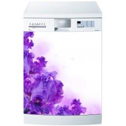 Stickers lave vaisselle ou magnet lave vaisselle Fleurs