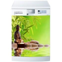 Stickers lave vaisselle ou magnet lave vaisselle Bouddah