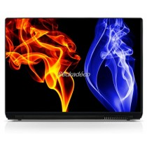Stickers Autocollants PC portable Flames