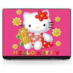 Stickers Autocollants PC portable Hello Kitty