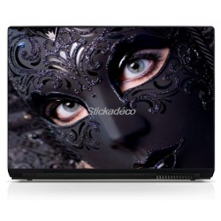 Stickers Autocollants PC portable Masque