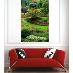 Affiche poster jardin