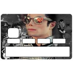 Stickers Autocollants Skin Carte de Crédit CB Michael Jackson ref 011