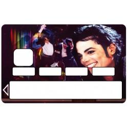 Stickers Autocollants Skin Carte de Crédit CB Michael Jackson ref 012