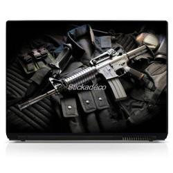Stickers Autocollants PC portable Armes