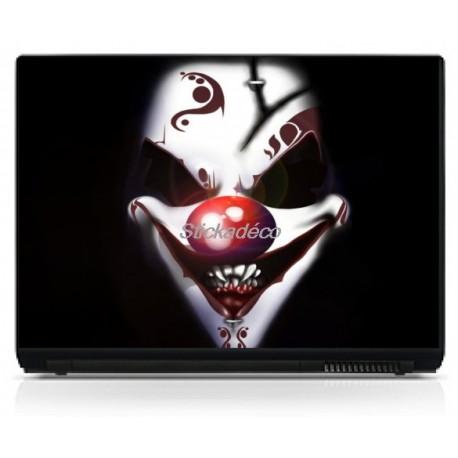 Stickers Autocollants PC portable Clown