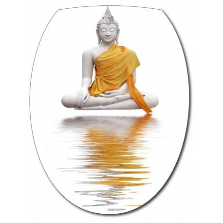 Sticker Abattant de WC Bouddha