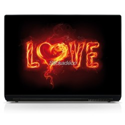 Stickers Autocollants PC portable Love 1