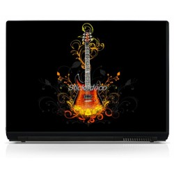 Stickers Autocollants PC Guitare