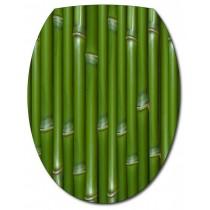 Sticker Abattant de WC Bambou