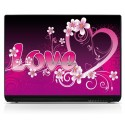 Stickers Autocollants PC portable Love 5